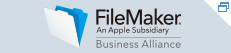FileMaker BUSINESS ALLIANCE